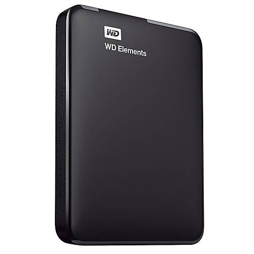 WD Disque dur externe 2 5  WD Elements 1 To USB 3.0 Noir