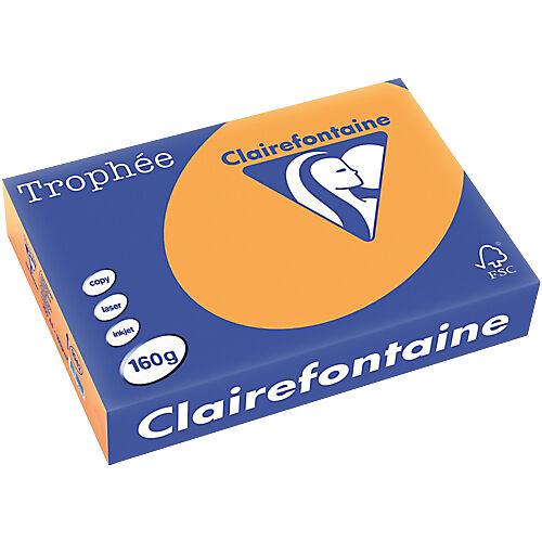 Clairefontaine Papier couleur Clairefontaine A4 80 g/m² Orange Trophee - 500 Feuilles