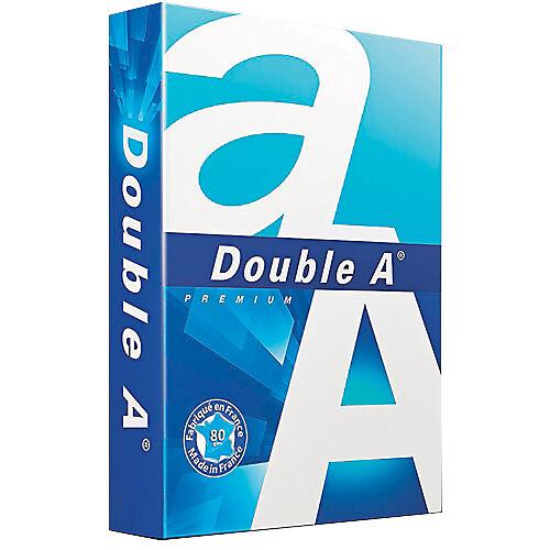 Double A Papier Double A A4 80 g/m² Blanc Premium - 500 Feuilles