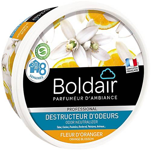 Boldair Destructeur d'odeurs Boldair Fleur d'orange - 300 g