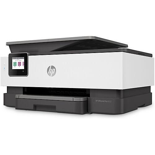 HP Imprimante tout en un HP Officejet Pro 8022 Couleur Jet d'encre A4