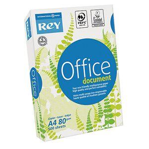Rey Papier copie & multi-usage Rey 80 g/m² Blanc 177205 - 500 Feuilles - Publicité