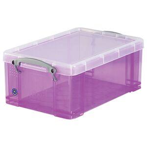 Really Useful Box Boîte de rangement Really Useful Box 9 25 5 x 39 5 x 15 5 cm Violet - Publicité