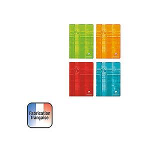 Clairefontaine Cahier Clairefontaine Grands carreaux A4 Assortiment - 48 Feuilles - Publicité