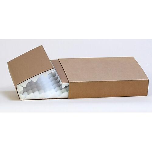 Sealed Air Etuis mousses alvéolés réutilisables Carton + mousse PU Sealed Air 180 mm
