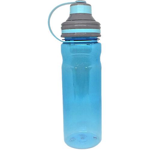 Sans marque Gourde avec filtre 800 ml Bleu