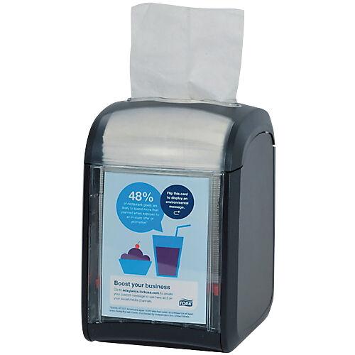 Tork Distributeur de serviettes de table Tork Xpressnap Fit® N14 Noir