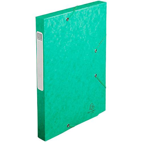 Exacompta Boîte de classement Exacompta Cartobox 24 x 2 5 x 24 cm Vert 25 Unités