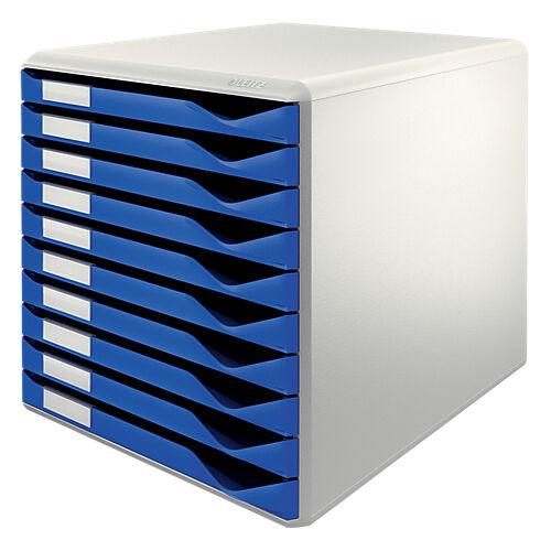 Leitz Bloc de classement Leitz 10 52810035 A4 Polystyrène Bleu 28 5 x 35 5 x 29 cm
