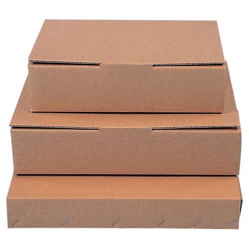 Sans marque Boîte postale Carton 310 (l) x 215 (P) x 70 (H) mm Marron - 50 Unités