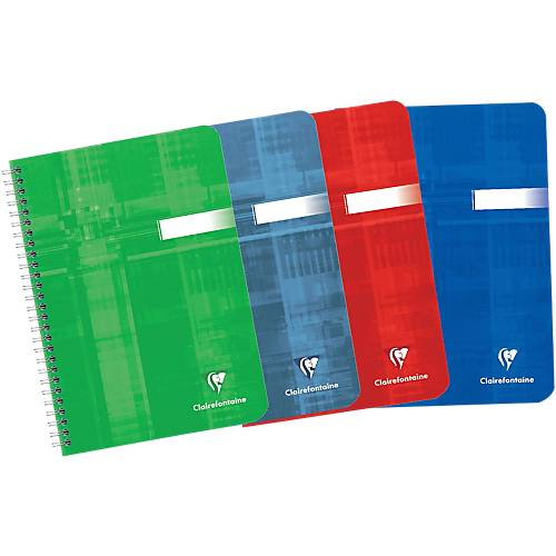 Clairefontaine Cahier Clairefontaine A5 90 g/m² Papier Assortiment 180 Pages - 90 Feuilles