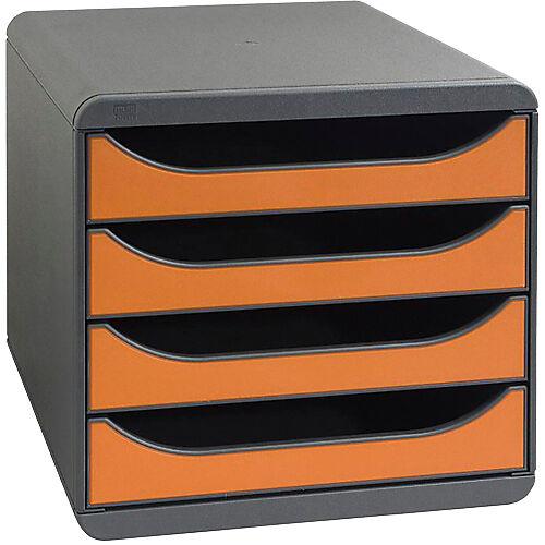 Exacompta Module de classement Exacompta 4 Classic 310788D PS Noir  Tangerine 27 8 x 34 7 x 26 7 cm