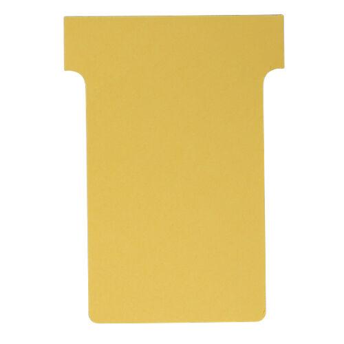 Nobo Fiches T cartonnées Nobo Carton fibre vierge Indice 2 6 x 8 5 cm - 100 Unités