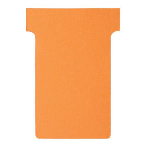 Nobo Fiches T Nobo Carton fibre vierge Indice 2 6 x 8 5 cm - 100 Unités