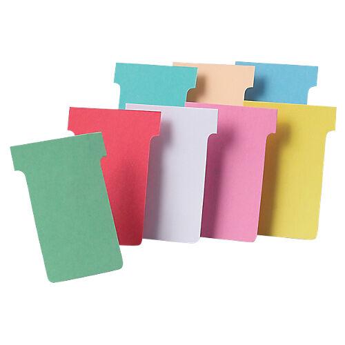 Nobo Fiches T cartonnées Nobo Carton Indice 2 6 x 8 5 cm - 100 Unités