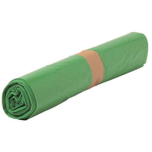 Sans marque Sacs-poubelle biodégradables 50 L Vert - 500 Unités