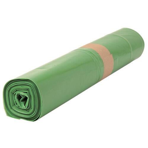 Sans marque Sacs-poubelle biodégradables 100 L Vert - 200 Unités
