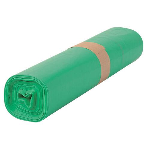 Sans marque Sacs-poubelle écologiques 110 L Vert - 200 Unités