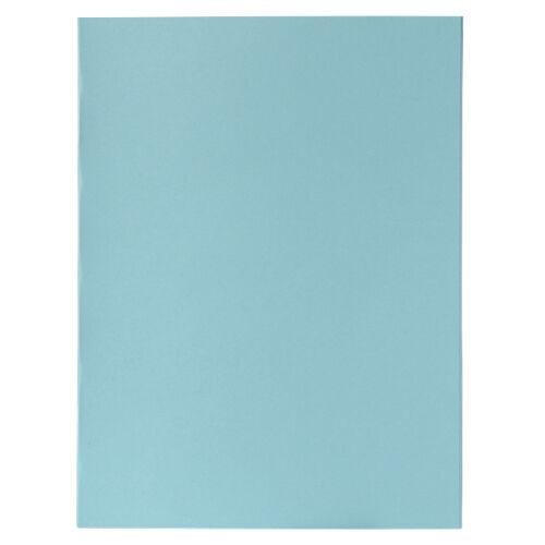Exacompta Chemises Exacompta A4 Bleu clair 170 g/m² Carton Manila 100 Unités