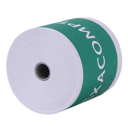 Exacompta Bobines caisses Exacompta Papier thermique sans BPA 80 mm x 80 0 mm x 12 mm x 76 m - 10 Unités