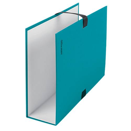 Office Depot Chemise à sangle Office Depot Carton Bleu