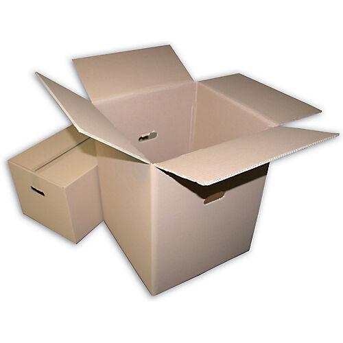 GPV Caisse carton GPV 450 (l) x 450 (P) x 750 (H) mm Kraft - 10 Unités