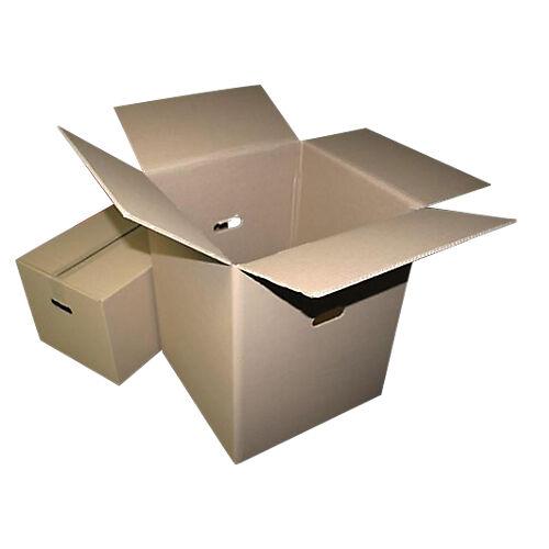 GPV Caisse carton GPV 550 (l) x 350 (P) x 300 (H) mm Kraft - 10 Unités