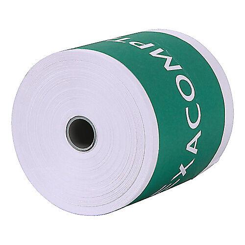 Exacompta Bobines CB + caisses Exacompta Papier thermique sans BPA 57 mm x 60 mm x 12 mm x 44 m - 10 Unités