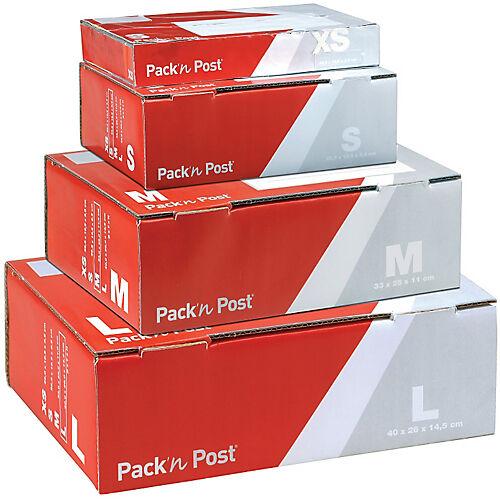 GPV Boîte postale Carton GPV M 325 (l) x 240 (P) x 105 (H) mm Rouge  gris - 5 Unités