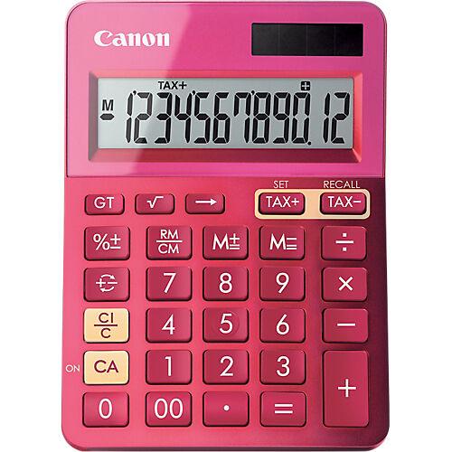 Canon Calculatrice de bureau Canon LS-123K 12 Chiffres Rose