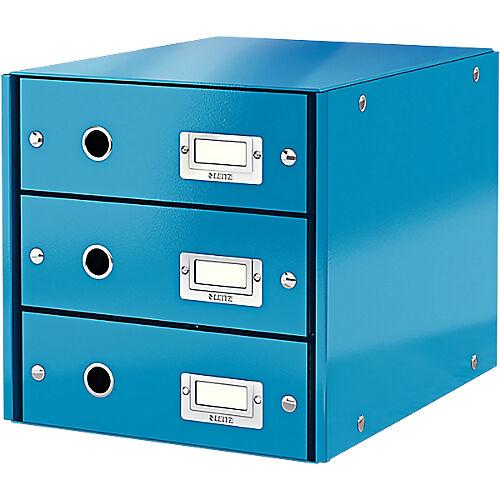 Leitz Module de classement Leitz WOW Click&Store A4 Bleu 28 6 x 35 8 x 28 2 cm