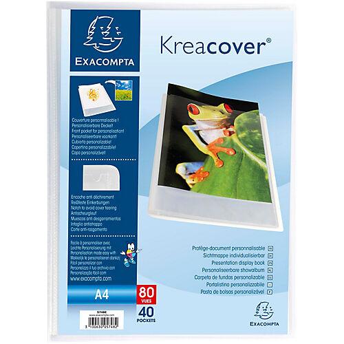Exacompta Protège-documents soudé Exacompta Krea Cover A4 Cristal