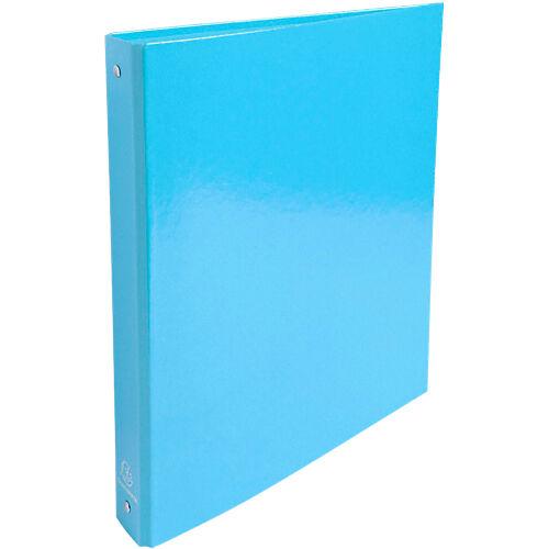Exacompta Classeur à anneaux Exacompta 4 anneaux 30 mm Carton A4 Bleu