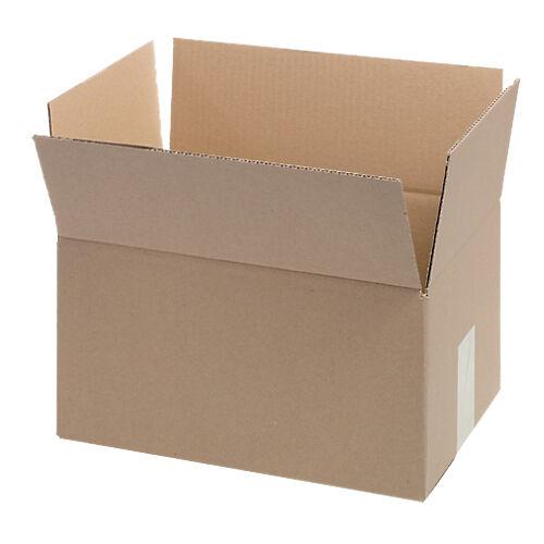 Niceday Boîte d'emballage Niceday Carton ondulé simple cannelure 304 (l) x 217 (P) x 150 (H) mm Marron - 20 Unités
