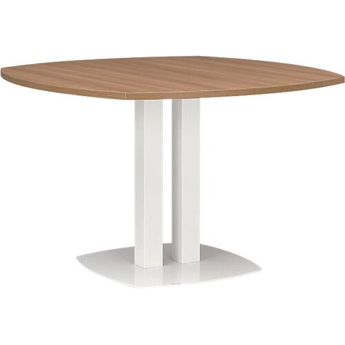 Gautier Office Table ronde Gautier Office Xenon 1150 x 1150 x 750 mm Imitation merisier italien