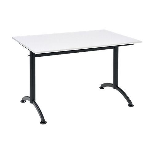 Sans marque Table multi-usages Cafétéria 1200 x 800 mm Gris