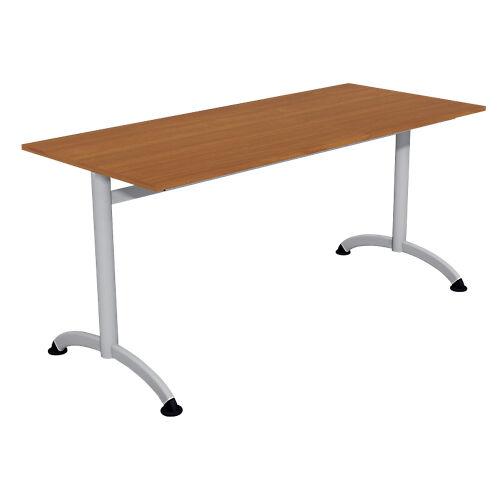 Sans marque Table de réunion 1600 x 700 x 740 mm Imitation Merisier