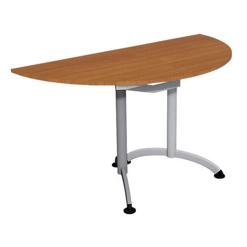 Sans marque Table de réunion 1400 x 700 x 740 mm Imitation Merisier