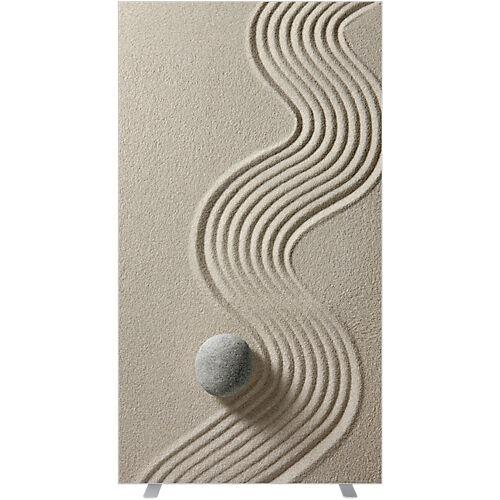 Paperflow Cloison amovible Paperflow 940 x 1740 mm Beige