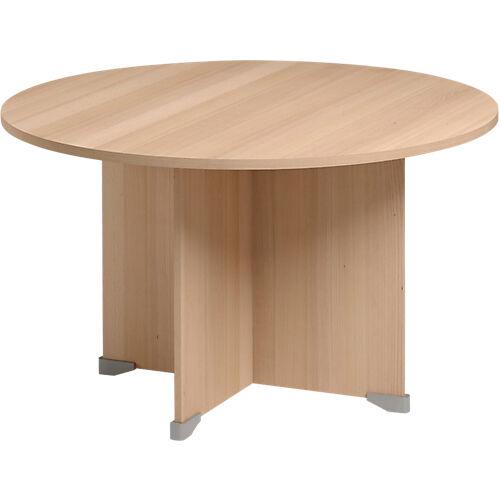 Gautier Office Table de réunion Gautier Office Jazz+ 1200 x 740 mm Imitation hêtre