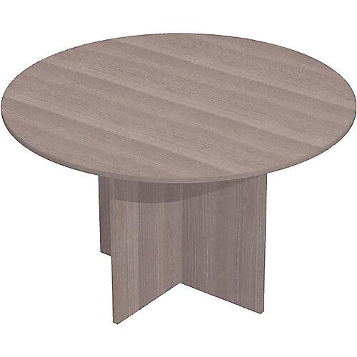 Sans marque Table de réunion Easy Select 1200 x 740 mm Imitation cèdre