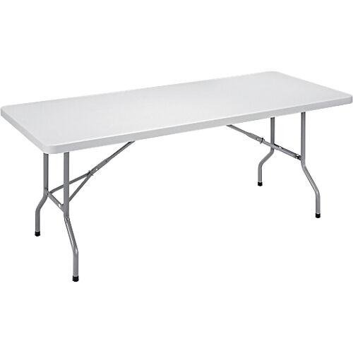 Sans marque Table pliante 1220 x 610 x 740 mm Gris
