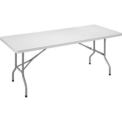 Sans marque Table pliante 1830 x 760 x 740 mm Gris