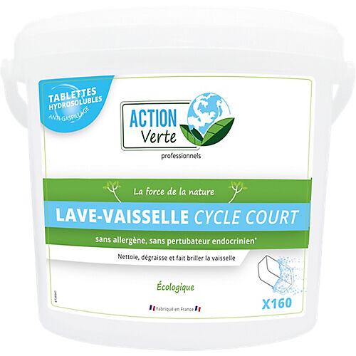 ACTION Verte Tablette pour lave-vaisselle ACTION Verte Cycle court - 160 Unités