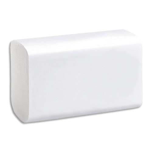 1er Prix Paquets d'essuie-mains pure ouate - 2 plis en -150 - 21,6 x 23 cm - blanc