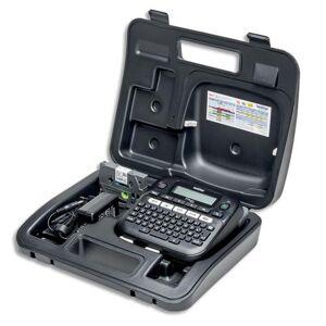 Brother Etiqueteuse de bureau Brother PT-D210VP avec valise - utilise des rubans Tze de 3,5 à 12 mm - Publicité