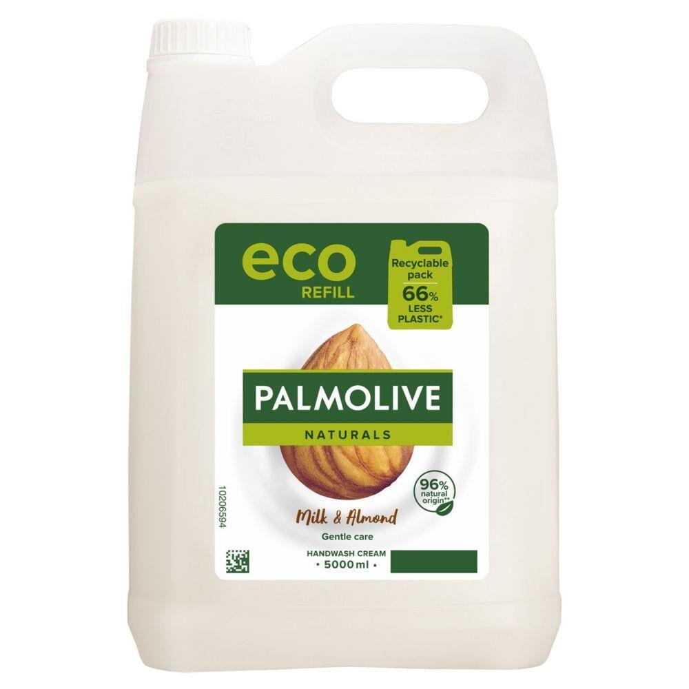 Palmolive Crème lavante liquide Palmolive - au lait d'amande - Bidon de 5L