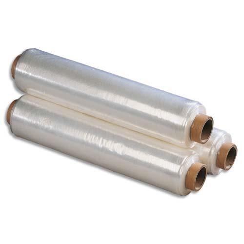 Emballage Film étirable manuel transparent économique - 15 microns - 300 m x 450 mm - Lot de 6