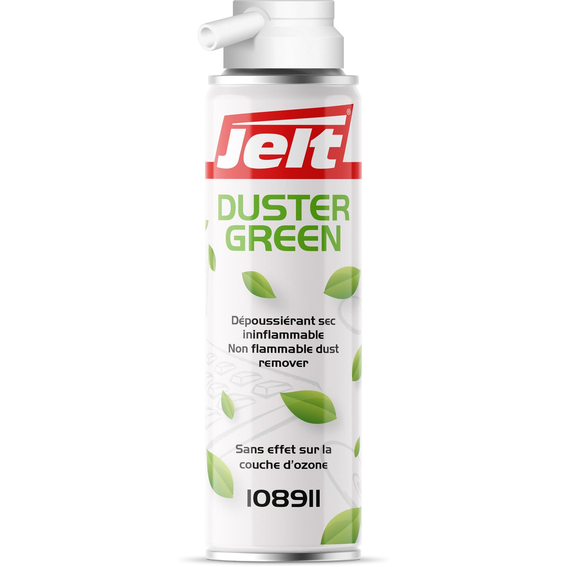 Jelt Aérosol de dépoussiérage Dustergreen standard - 400 g - bouteille 650 millilitres - Lot de 2