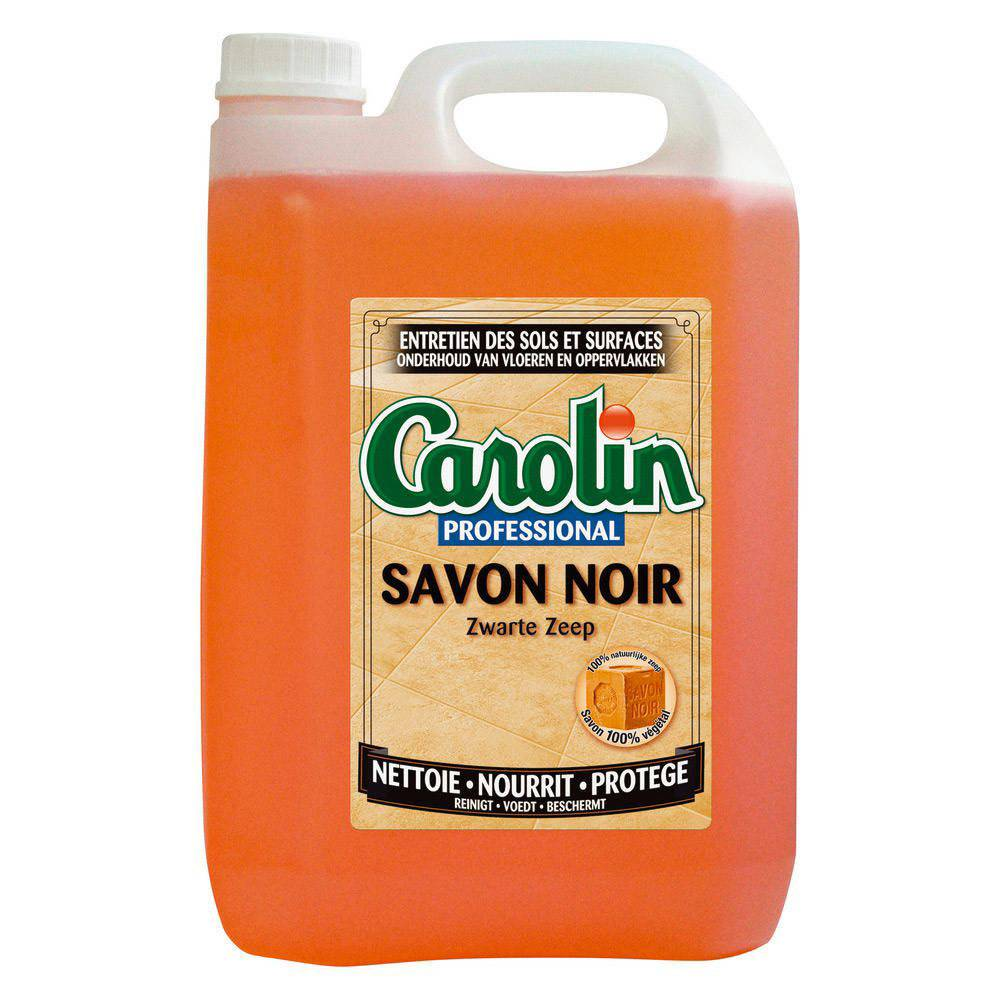 Carolin Savon noir sans parfum - bidon de 5 L